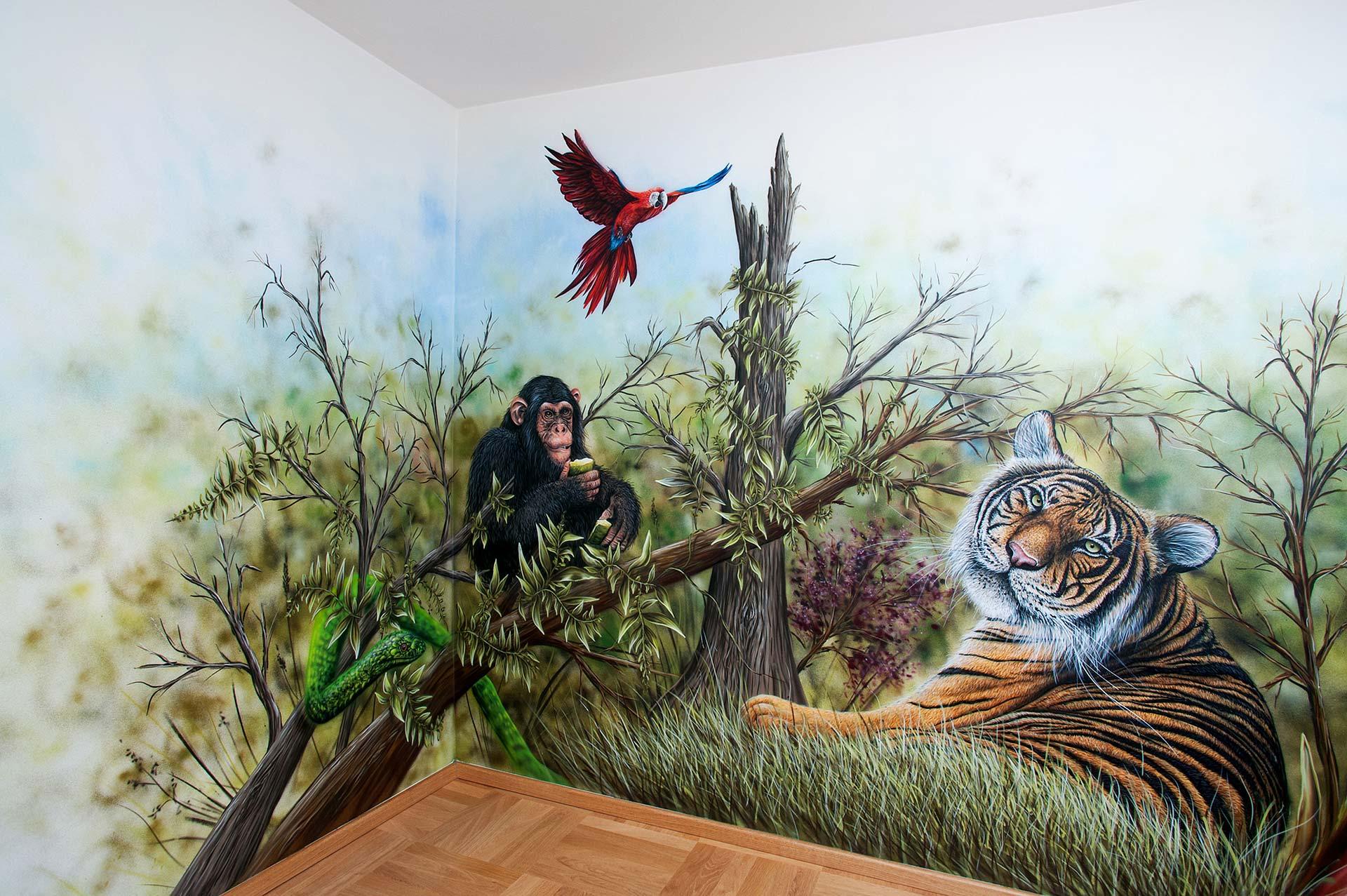Kinderzimmer Dschungel