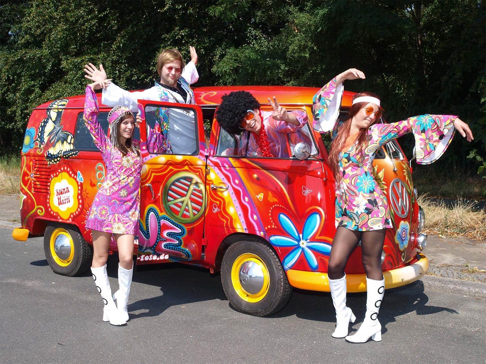 Hippie Van - PR Bild SIGMA