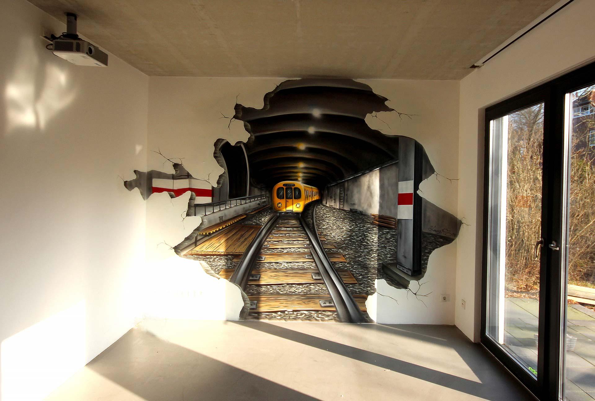 U-Bahn Wand